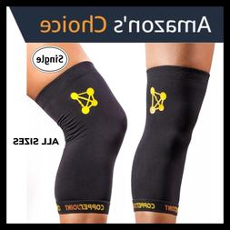 COPPERJOINT Compression Knee Sleeve | Copper Knee Brace Wrap