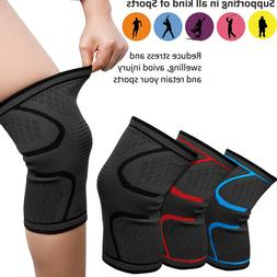 Compression Knee Strap Support Brace Sleeve For Running Exer