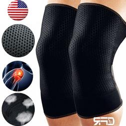 Compression Knee Support Sports Brace Medical Strap Guard Pa
