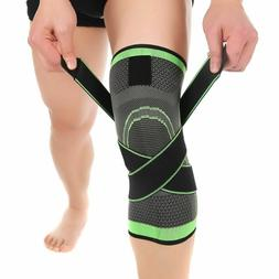 Knee Braces Compression Sleeve for Man Women Plus Size Suppo
