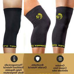 Copper Comfort Copper Infused Knee Compression Sleeve Suppor