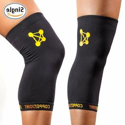 CopperJoint Copper Knee Sleeve, #1 Compression Fit Support R