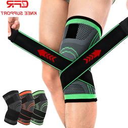 Copper Knee Sleeve Compression Brace Patella Support Stabili