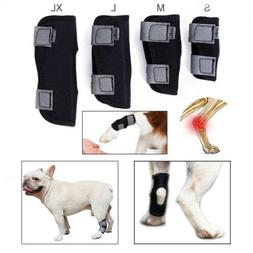Dog Leg Brace Hock Joint Knee Support Rear Therapeutic Pet W