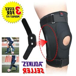 Double Metal Hinged Full Knee Support Brace Knee Protection