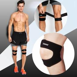 Dual Adjustable Neoprene Knee Pain Relief Patella Strap Band
