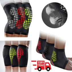 Elastic Sports Leg Knee Foot Support Brace Wrap Protector Kn