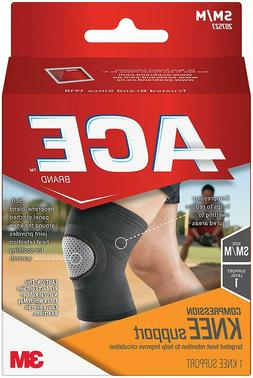ACE Compression Knee Support, Small/Medium, America's Most T