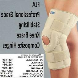 FLA-Stabilizing Knee Brace with Composite Hinges SIZES AVAIL
