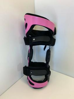 g796-  NEW Breg Hinged Knee Brace   size L Large? Left Knee