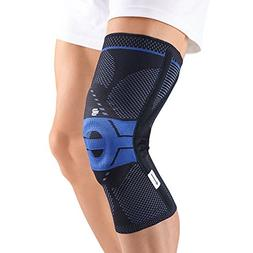 GenuTrain P3 Knee Support Size: Left 3, Color: Black