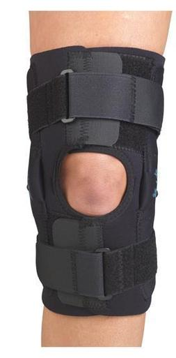 gripper 12 hinged knee brace with coolflex