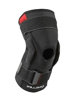Mueller Hinged Knee Brace, Black