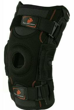 Hinged Knee Brace: Shock Doctor Max Support Compression Knee
