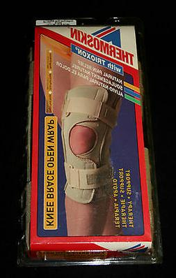 Swede-O Hinged Therapy Open Knee Wrap Brace Single Pivot The