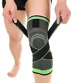 HipStone Knee Sleeve, Compression Fit Support -for Joint Pai