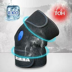 ARRIS Ice Pack for Knee Injuries, Reusable Hot Cold Therapy