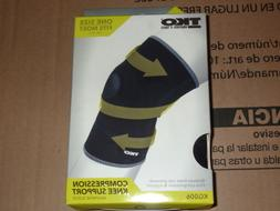 TKO KG006 Unisex Compression Knee Support One Size Fits Most