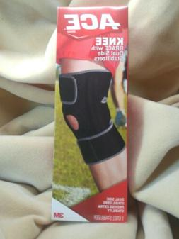 ACE Knee Brace with Dual Side Stabilizers New