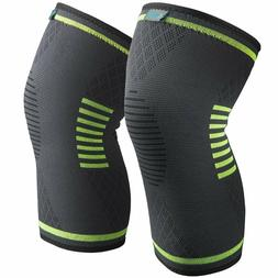 Sable Knee Brace Compression Sleeve FDA Approved 1 Pair - S,