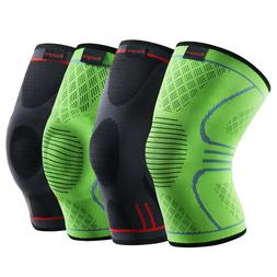 e9c8acedbf Editorial Pick Kuangmi Knee Brace Compression Sleeve Sports Support Pad Run