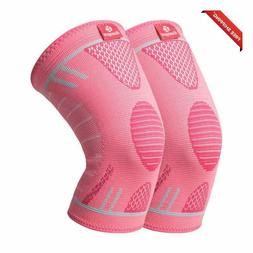 Kuangmi Knee Brace Compression Sleeve Support for Running,Jo