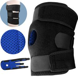 Knee Brace Compression Sleeve Support For Running Arthritis