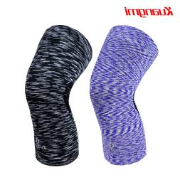 Kuangmi Knee Brace Compression Sleeve Support Guard Protecto