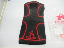 Knee Brace Compression Sleeve with Strap for Best Support &