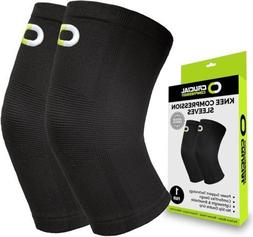 Crucial Knee Brace FOOT & ANKLE Compression Sleeve Support B