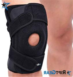 Knee Brace for Men and Women by RiptGear® - Open Patella Kn
