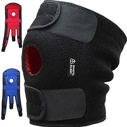 Steel Sweat Knee Brace Support Protector - Relieves Joint Pa