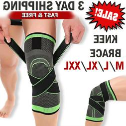 Knee Brace Knee Support Knee Compression Sleeve Pad Protect