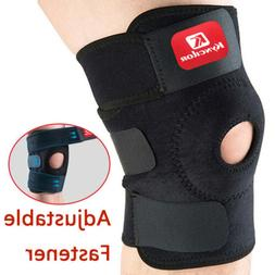 Knee Brace Open Patella Support Adjustable Elastic Sports Kn