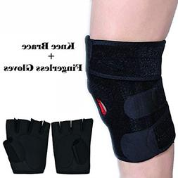 Knee Brace Plus Size for Men and Women Arthritis Pain and Su