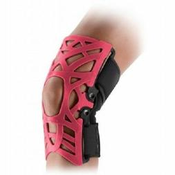 knee brace reaction web pink size m