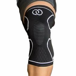 Knee Brace Compression Sleeve Support Meniscus Running Joint