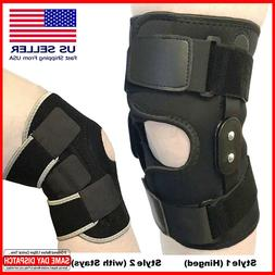 Knee Brace Support Leg Patella Stabilizer Unisex Sizes Large