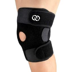 Compressions Knee Brace Support - Neoprene Open Patella Stab