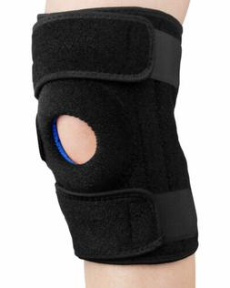 Knee Brace Support Open-Patella Stabilizer with Adjustable S