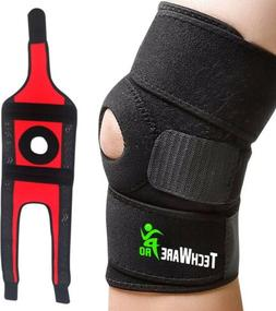 TechWare Pro Knee Brace Support - Relieves ACL,LCL,MCL, Meni