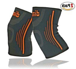 knee brace support running breathable elastic compression