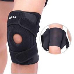 Knee Brace Support Sleeve Patella Stabilizer for Meniscus Te
