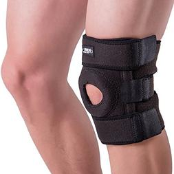 Knee Brace Support Sleeve for Arthritis, Meniscus Tear, ACL,