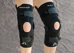 ALPS Knee Brace Wrap-around Version With Hinge All Sizes NEW