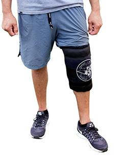 Pro Ice Cold Wrap for Left & Right Knee - Great for Knee Spr