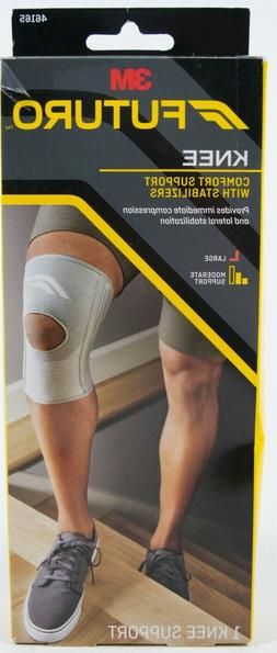 Futuro Knee Comfort Support w. Stabilizers - Large
