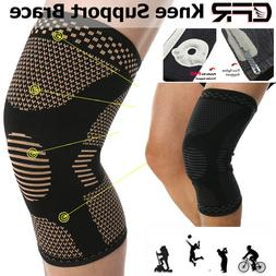 Knee Compression Brace Sleeve Patella Support Sports Arthrit