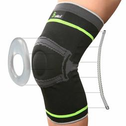 Tech Ware Pro Knee Compression Sleeve - Best Knee Brace with