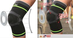 Tech Ware Pro Knee Compression Sleeve-Best Knee Brace with S